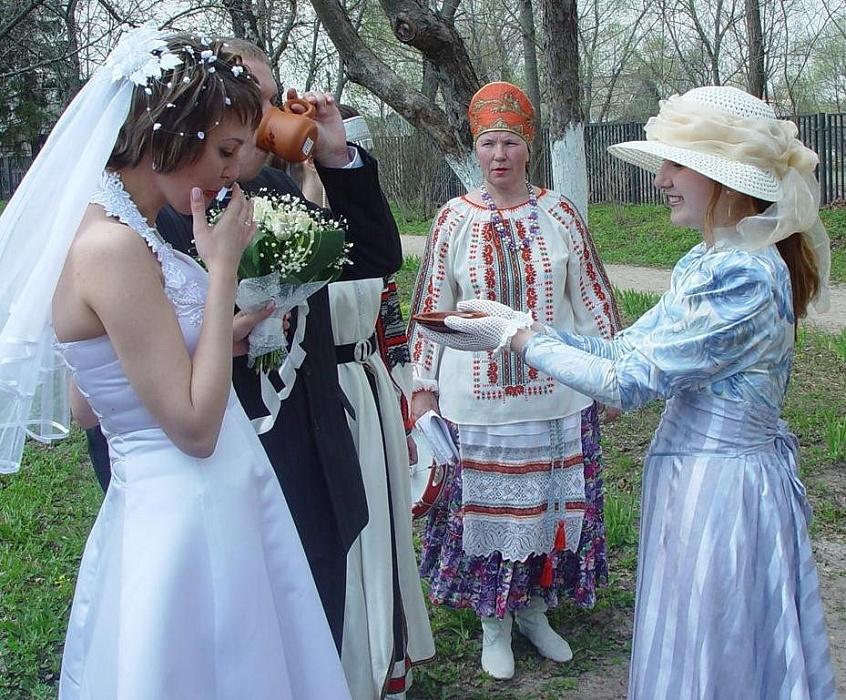 Сценарий фольклорного обряда свадьба